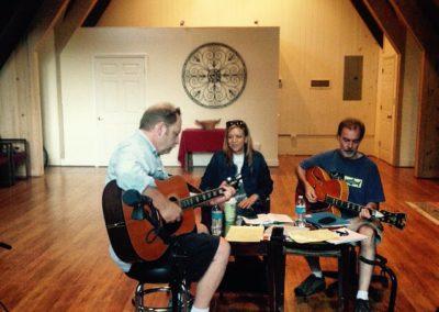 John, Lisa Fenstermacher and Peter Rogosky
